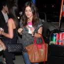Lucy Hale out in LA (October 19)