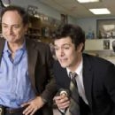 (L-r) KEVIN POLLAK as Hunsaker and ADAM BRODY as Barry Mangold in Warner Bros. Pictures' crime comedy 'Cop Out.' Photo by Abbot Genser - 454 x 302
