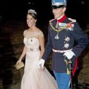 Prince Joachim and Marie Cavallier : New Year's reception 2015 - 454 x 715