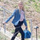 Reese Witherspoon is spotted filming scenes on the set of 'Big Little Lies' in Los Angeles, California on May 31, 2016