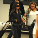 Eva Longoria Arrives Into LAX Airport - September 13 2009