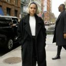 Maia Mitchell – Arrives at Build Series in NYC - 454 x 681