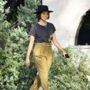 Kat Graham – Leaving a meeting in Los Angeles