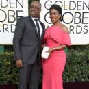 Courtney B. Vance and Angela Bassett At The 74th Golden Globe Awards (2017)