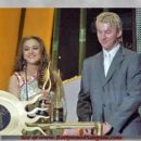 Brett Lee and Preity Zinta - 438 x 395
