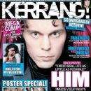 Ville Valo - Kerrang Magazine Cover [United Kingdom] (13 January 2010)