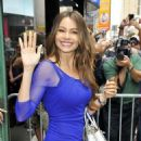 Sofia Vergara arriving at ABC studios (August 28)