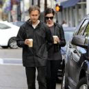 Anne Hathaway and her husband Adam Shulman out and about in Beverly Hills on January 06, 2015 - 440 x 600