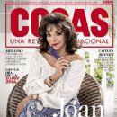 Joan Collins - Cosas Magazine Cover [Peru] (21 April 2016)