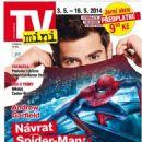 Andrew Garfield - TV Mini Magazine Cover [Czech Republic] (3 May 2014)