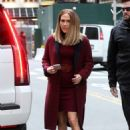 Jennifer Lopez – Arrives on set for 'Second Act' in New York City