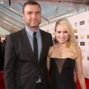 Liev Schreiber and Naomi Watts  At The 18th Annual Critics' Choice Movie Awards - Red Carpet (2013) - 430 x 594