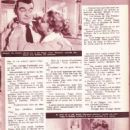 Touch and Go - Amor Film Magazine Pictorial [France] (1 February 1956)