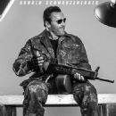 Arnold Schwarzenegger as Trench in The Expendables 3 - 454 x 674