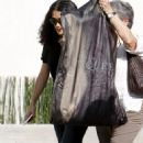 Salma Hayek - Leaves Alexander McQueen Showroom In Beverly Hills, 20. 3. 3009.