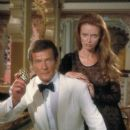 Roger Moore and Kristina Wayborn
