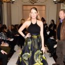 Blake Lively Marchesa Fashion Show In New York City