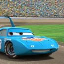 Portrait of The King (voiced by Richard Petty) in Buena Vista Pictures Distribution's Cars - 2006