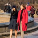 Jennifer Lopez and Vanessa Hudgens – On the set of 'Second Act' in NYC