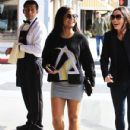 Christina Milian  out to lunch with friends at Il Pastaio in Beverly Hills, California on January 11, 2017 - 431 x 600
