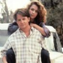 Michael J. Fox and Julie Warner