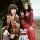 Tom Baker as Fourth Doctor and Mary Tamm as Romana I in Doctor Who (1974-1981) - 454 x 709