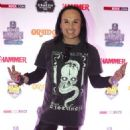 Dani Filth of Cradle of Filth attends the Metal Hammer Golden Gods awards on June 15, 2015 in London, England. - 454 x 622