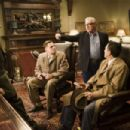 "(Left to right) Ben Kingsley, Leonardo DiCaprio, director Martin Scorsese and Mark Ruffalo on the set of the thriller ""Shutter Island."" Photo credit: Andrew Cooper. Copyright © 2010 by PARAMOUNT PICTURES. All Rights Reserved."