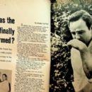 Marlon Brando - Silver Screen Magazine Pictorial [United States] (August 1958)
