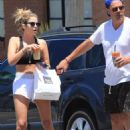 Ashley Benson – Leaves lunch at Joan's on Third in Studio City