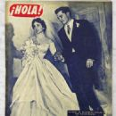 Elizabeth Taylor - Hola! Magazine Cover [Spain] (10 May 1950)