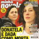 A Favorita - Minha Novela Magazine Cover [Brazil] (15 August 2008)