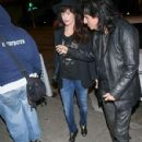 Sheryl Goddard and Alice Cooper are seen in Los Angeles, California on May 13, 2018 - 429 x 600