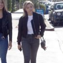 Chloe Moretz in Jeans – Out with a friend in LA - 454 x 662