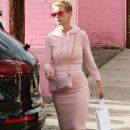 Katy Perry in Pink Outfit out in Los Angeles