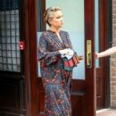 Kate Hudson in Long Dress – Leaves Her Hotel in New York - 454 x 680