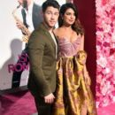 Priyanka Chopra and Nick Jonas : Premiere Of Warner Bros. Pictures' 'Isn't It Romantic - 399 x 600