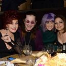 Ozzy Osbourne and his family attend the 56th pre Grammy gala on January 25th, 2014 - 454 x 329
