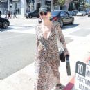 Sharon Stone in Sheer Dress out in Beverly Hills - 454 x 614