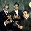 Shah Rukh Khan, Amitabh Bachchan, Dilip Kumar - Filmfare Magazine Pictorial [India] (24 April 2013) - 454 x 341