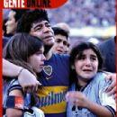 Diego Maradona Gente Magazine Pictorial 12 November 2001 - 299 x 450