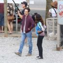 Dania Ramirez on the set of 'Once Upon a Time' in Vancouver - 454 x 434