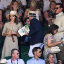 Emma Watson – Wimbledon 2018 Men's Singles Final in London - 454 x 317