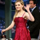 Abigail Breslin At The Late Night with Jimmy Fallon
