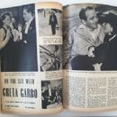 Greta Garbo - Movies Magazine Pictorial [United States] (January 1942) - 454 x 340
