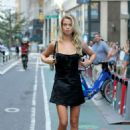 Hailey Clauson – Arrives at 2017 Victoria's Secret Fashion Show Casting in NYC - 454 x 681