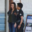 Jennifer Love Hewitt on the set of '9-1-1' in Los Angeles - 454 x 749