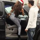 Courtney Stodden is not pining for Doug this holiday... as she goes tree shopping with hunky man - 454 x 658