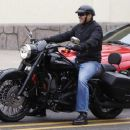 George Clooney Out For A Sunday Morning Ride