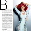 Rihanna Marie Claire Magazine Pictorial December 2010 Russia